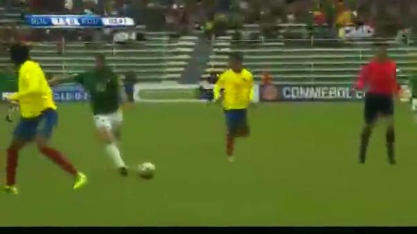 El golazo de Pablo Escobar ante Ecuador por Eliminatorias