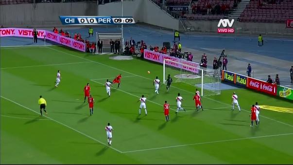 La Selección Peruana remó pero no alcanzó para sumar en Santiago.