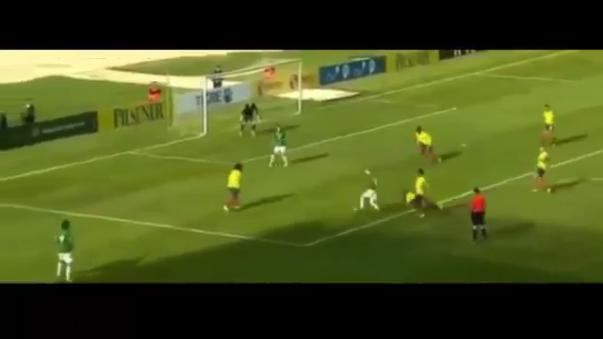 El golazo de Pablo Escobar a lo Messi.