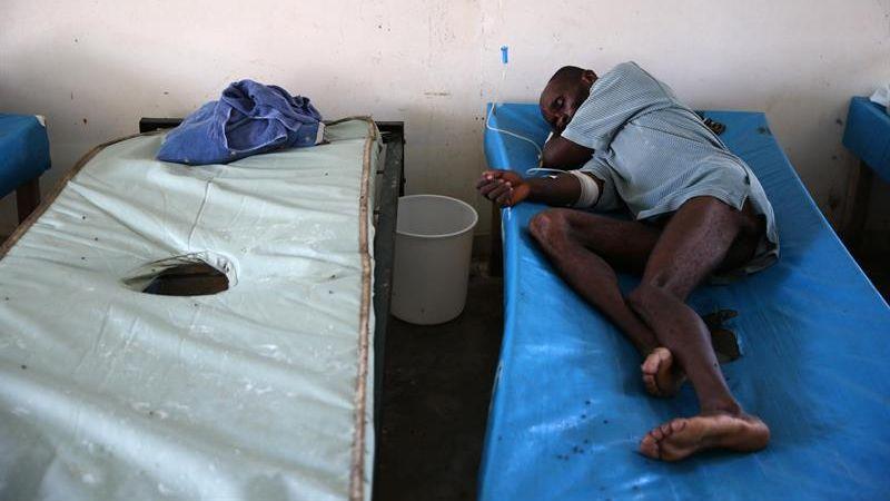 La situación de calamidad que dejó Matthew a su paso por el sur y suroeste haitiano, ha hecho temer a las autoridades el rebrote del cólera.