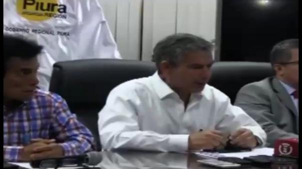 Gobernador Regional de Piura.