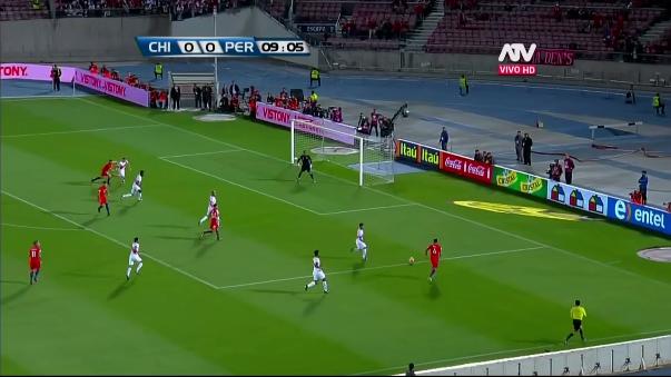 La Roja se metió a la competencia tras ganarle 2-1 a Perú en Santiago.