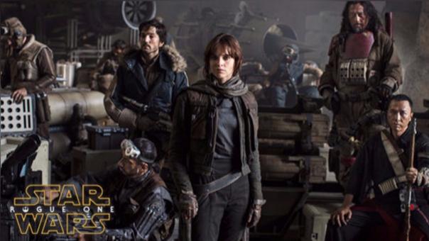Lucasfilm lanzó un nuevo tráiler de 'Rogue One'.