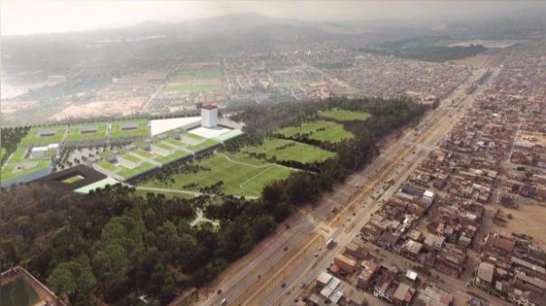 La Villa Panamericana se terminaría en marzo del 2019.