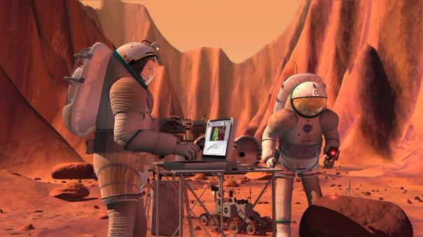 El ser humano llegaría a Marte luego de 61 años después de haber llegado a la Luna.