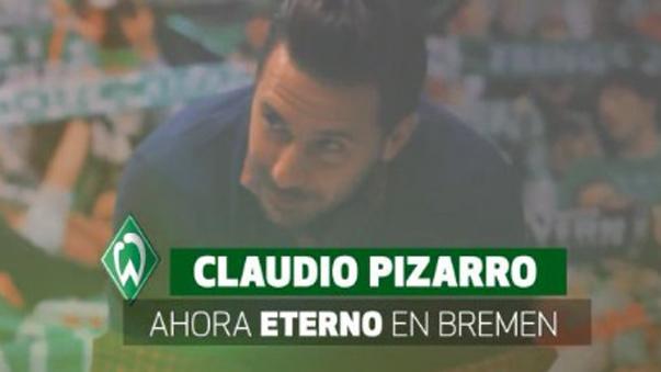 Claudio Pizarro se convirtió en