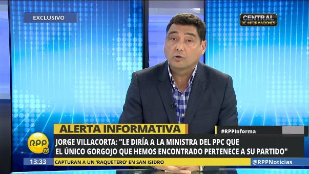 Así se defendió Villacorta de las acusaciones en su contra.