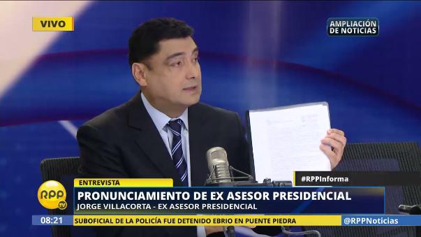 Jorge Villacorta negó el cobro de cupos en Peruanos por el Kambio.