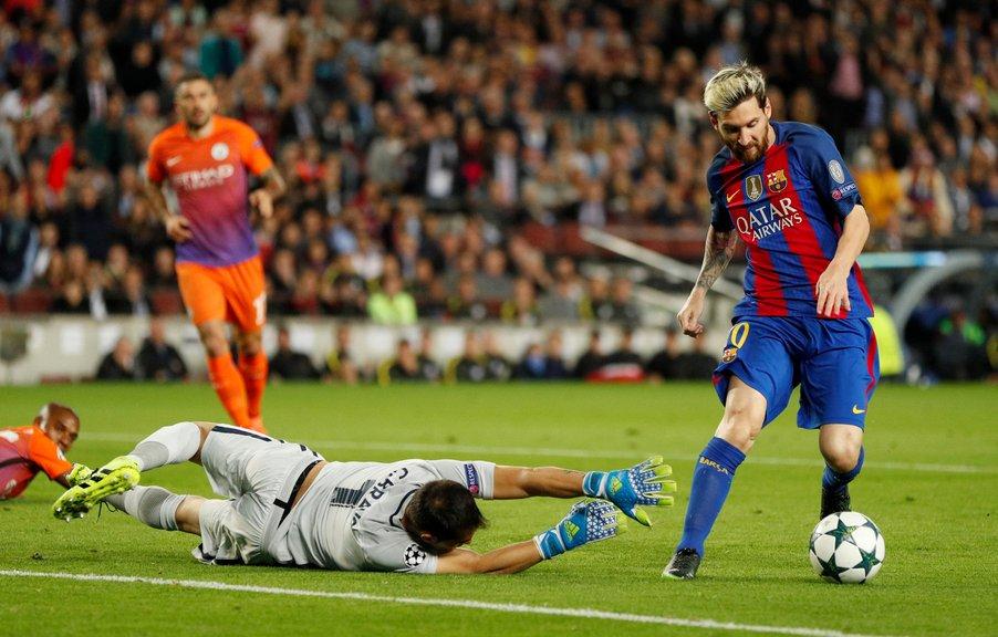 Lionel Messi lleva 87 goles en los 108 partidos que ha jugado en la Champions League.
