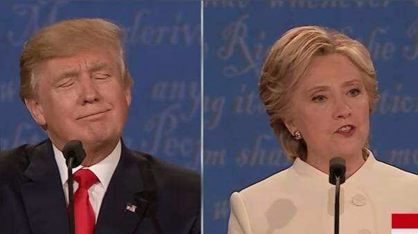 Donald Trump insultó a Hillary Clinton y la calificó como una