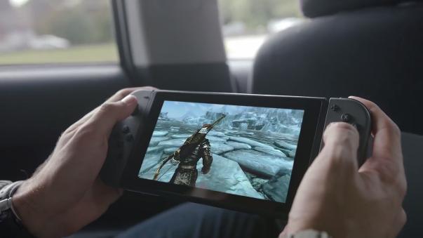 Esta es la nueva consola de Nintendo.