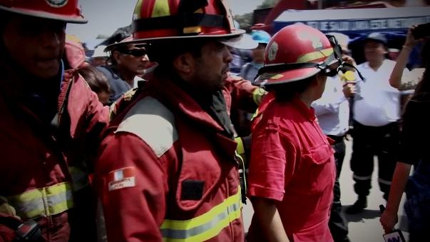 RPP rinde homenaje a los bomberos del Perú