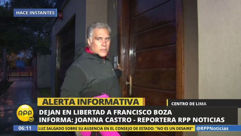 Tras atender a la prensa, el medallista olímpico abordó un taxi con dirección a su domicilio, en Miraflores.