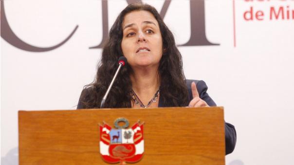 Patricia García dijo que en un mes se tendrán hospitales abastecidos con los medicamentos e insumos.