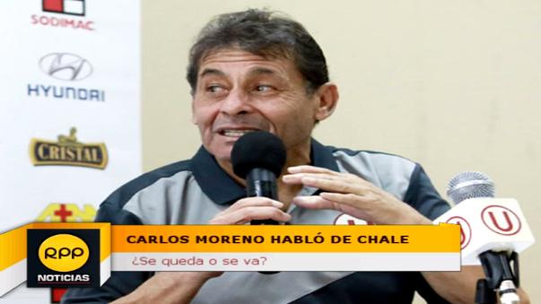Roberto Chale tiene a Universitario de Deportes líder del Descentralizado con 70 puntos.