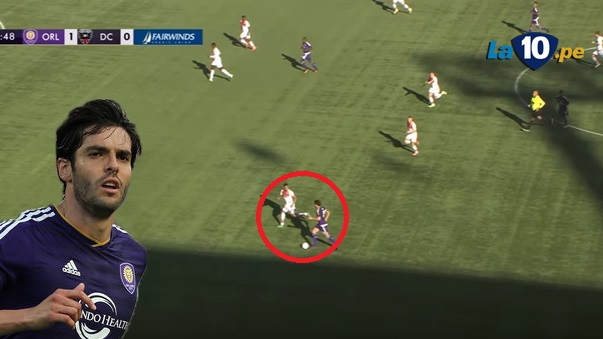 Kaká y su gran gol en la MLS.