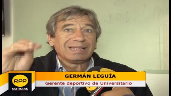 Germán Leguía está en contra de la venta o concesión del Estadio Lolo Fernández.