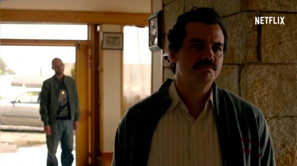 El narcotraficante Pablo Escobar murió mientras huía de las autoridades.