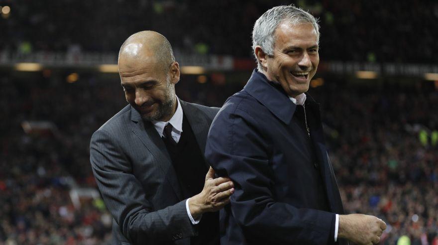 Pep Guardiola y José Mourinho tuvieron su primer enfrentamiento cuando dirigían al Barcelona e Inter de Milán, respectivamente.