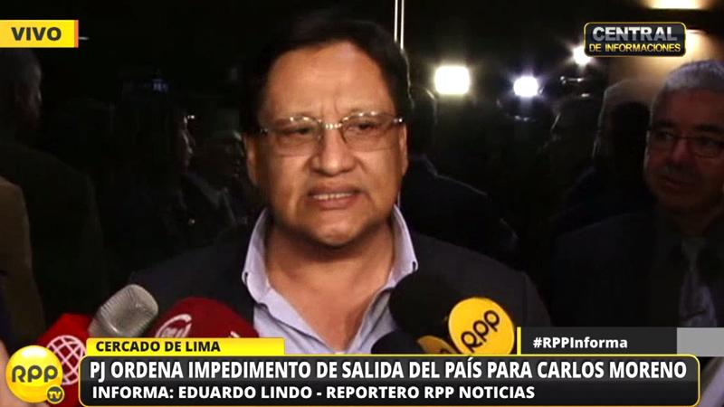 Carlos Moreno dejó su cargo como asesor presidencial luego de la filtración de audios donde se le escucha hablar de un negociado con el SIS y clínicas privadas.