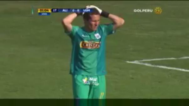 Alianza Lima recibe a la Universidad San Martín en búsqueda de los tres puntos. Butrón cometió un terrible blooper al inicio.