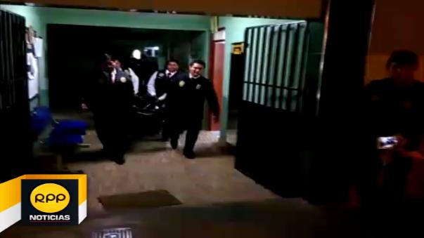 El detenido tomó la fatal decisión antes de ser trasladado al Ministerio Público.