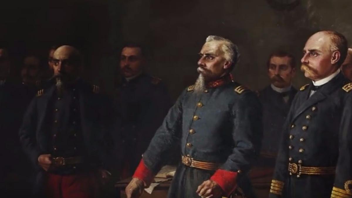 Imágenes de los lugares históricos, fotografías de época, imágenes animadas y recreaciones con uniformes de época y animaciones en 3D componen la gráfica del documental.