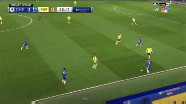 El delantero belga fue la figura del Chelsea en la goleada 5-0 ante el Everton por la Premier League.