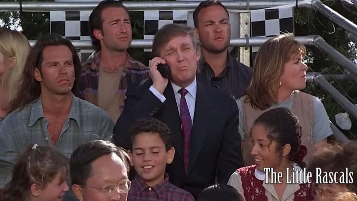 Donald Trump actuó en