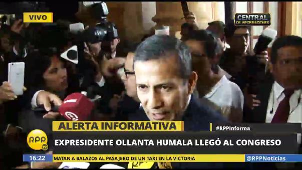 El exlegislador Santiago Gastañadui dijo que Ollanta Humala se encuentra tranquilo y confiado en que la opinión pública conocerá este tema.