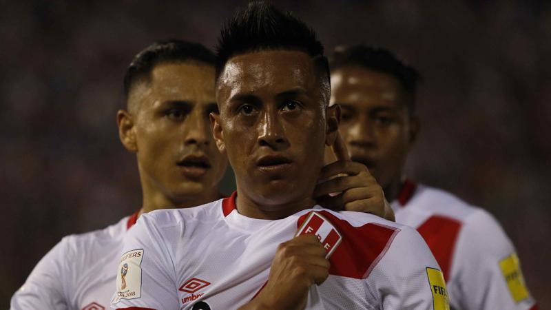 Ya puedes los goles del Paraguay vs. Perú.