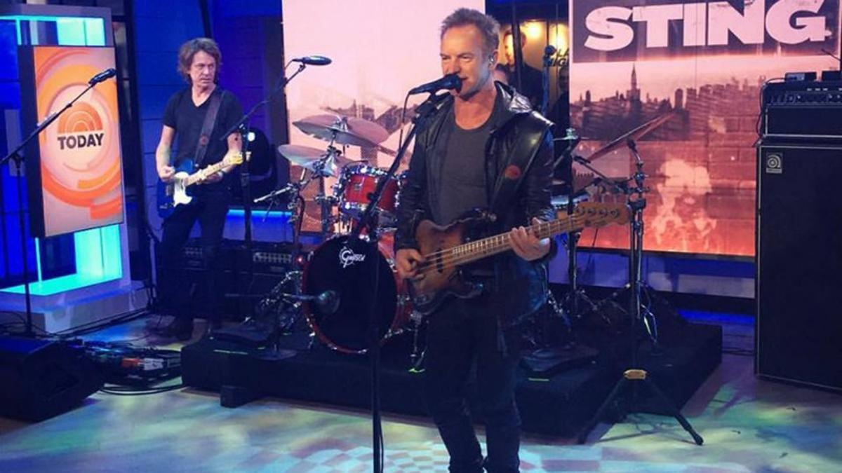 Sting lanza nuevo disco