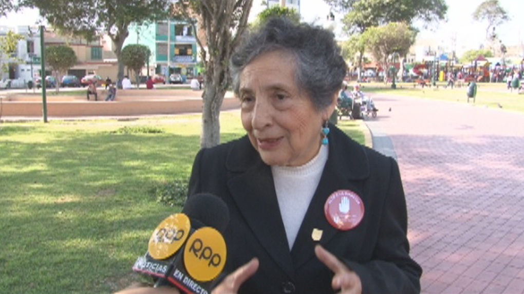 Doña Selfa Castillo tiene 75 años, 25 de los cuales convive con la diabetes.