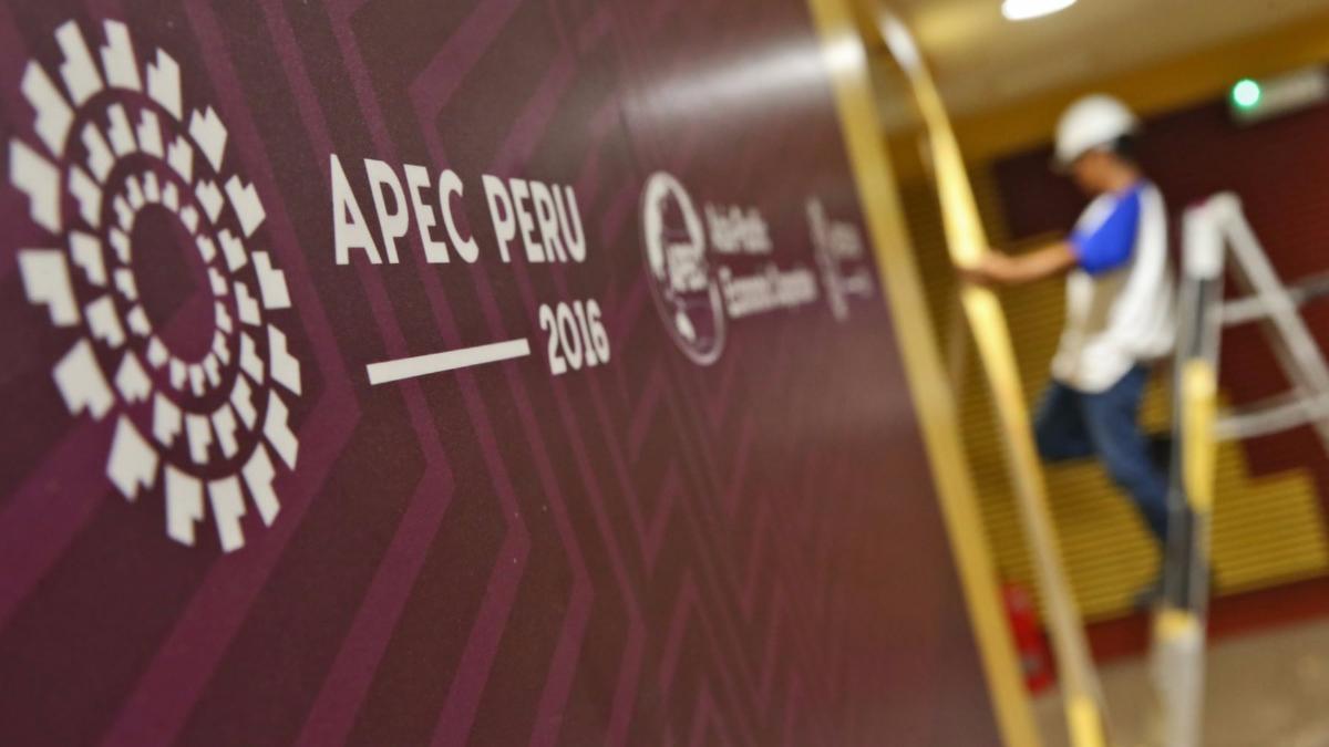El Foro de Cooperación Económica Asia-Pacífico (APEC), fundado en noviembre de 1989.