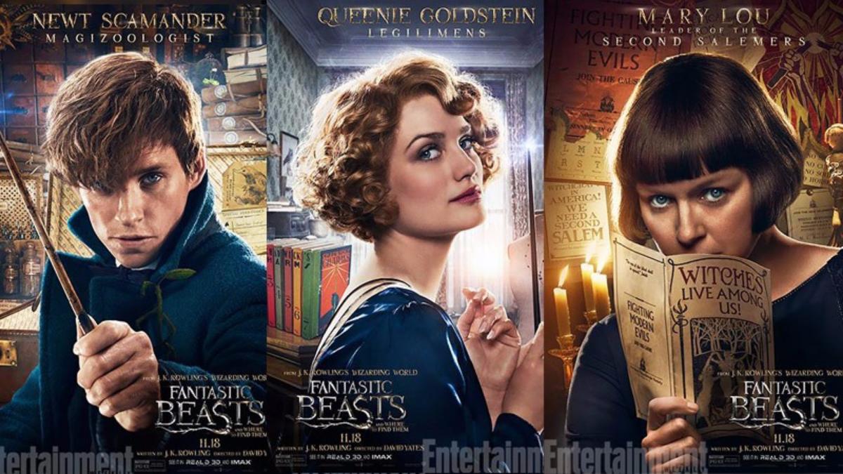 La cinta está protagonizada por Eddie Redmayne, Katherine Waterston, Ezra Miller y Colin Farrell.