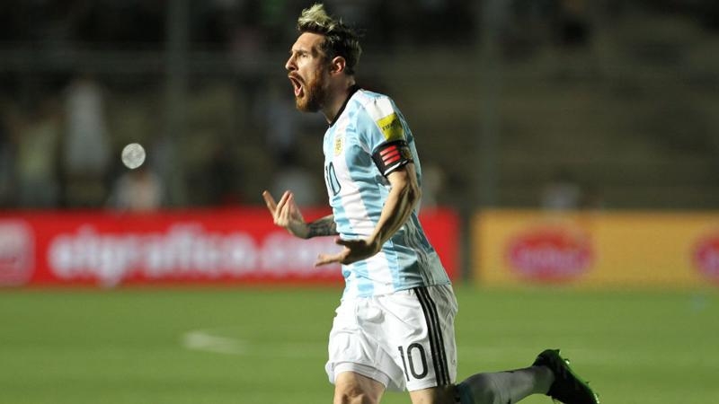 Lionel Messi no anotaba desde la fecha 7 de Eliminatorias.