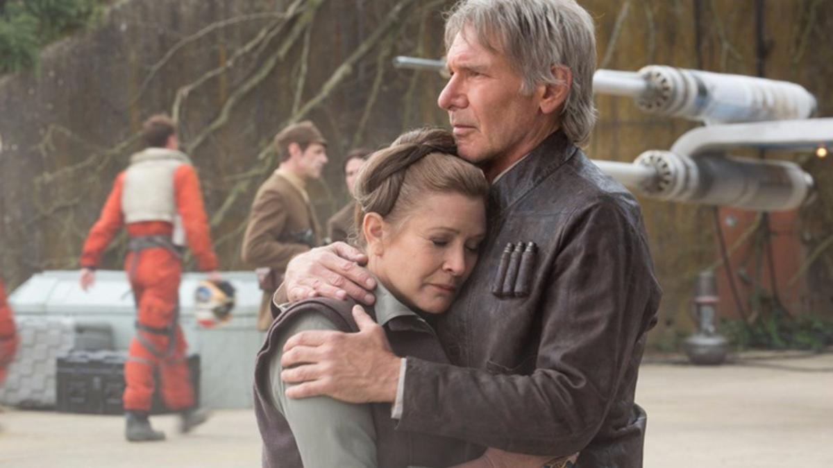 El amor de la pantalla a la realidad entre Carrie Fisher y Harrison Ford