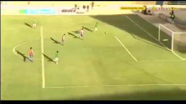 Bolivia derrotó 1-0 a Paraguay gracias a una gran jugada de Marcelo Martins Moreno. Se llevó al arquero, hizo gatear a un defensa y generó un autogol.