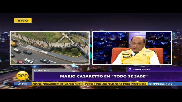 Mario Casaretto explicó las razones por las cuales los certificados de Defensa Civil son indefinidos.