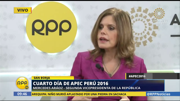 La segunda vicepresidenta invocó al diálogo a los dirigentes de Machu Picchu.