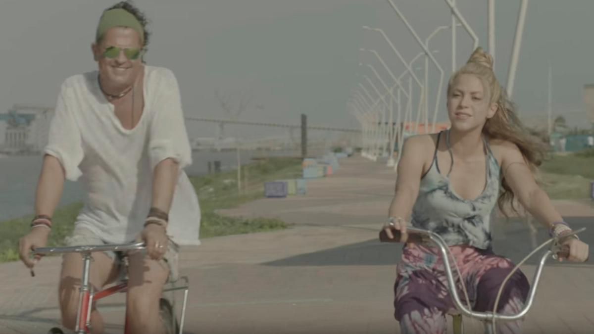 Shakira y Carlos Vives