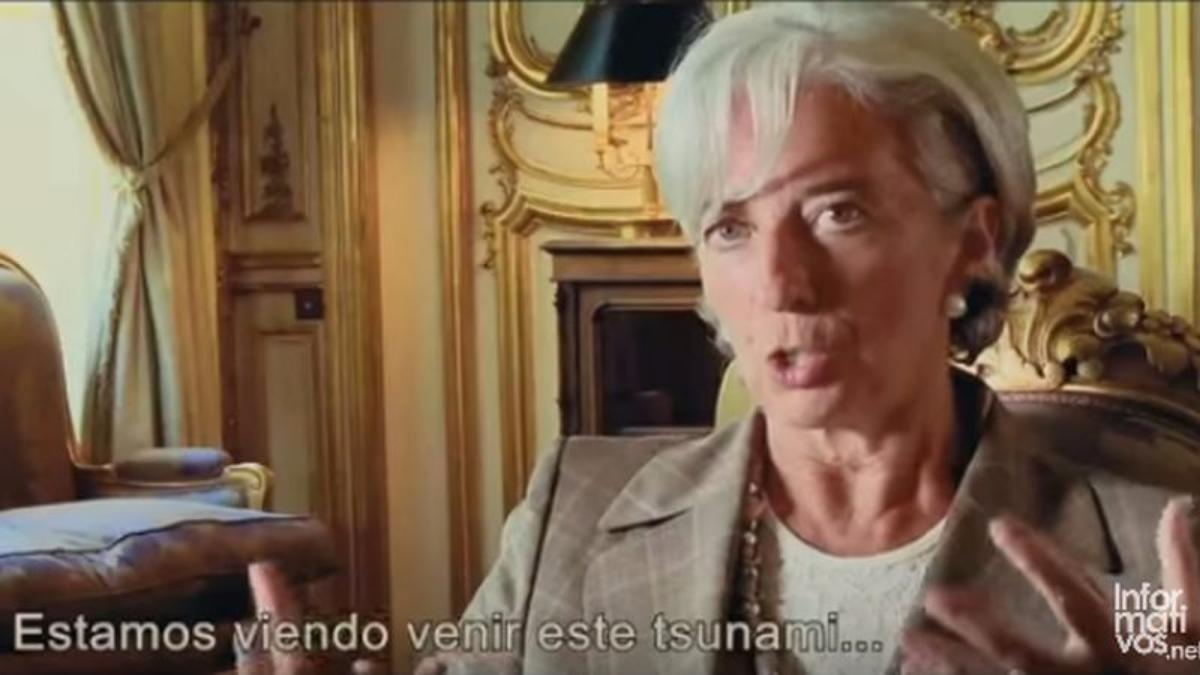 Lagarde es una de las principales protagonistas en el documental Inside The Job.