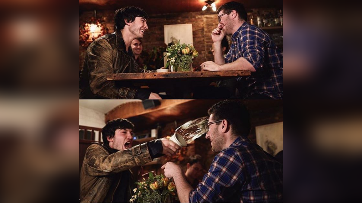 Ezra Miller realizó también un divertido video como promoción de