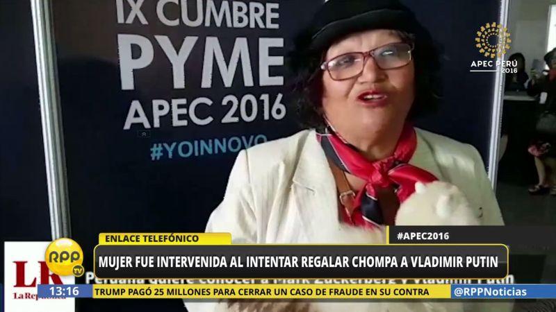 Julia Andrea Castro dijo que fue llevada a la Comisaría de San Borja para que rinda su manifestación.