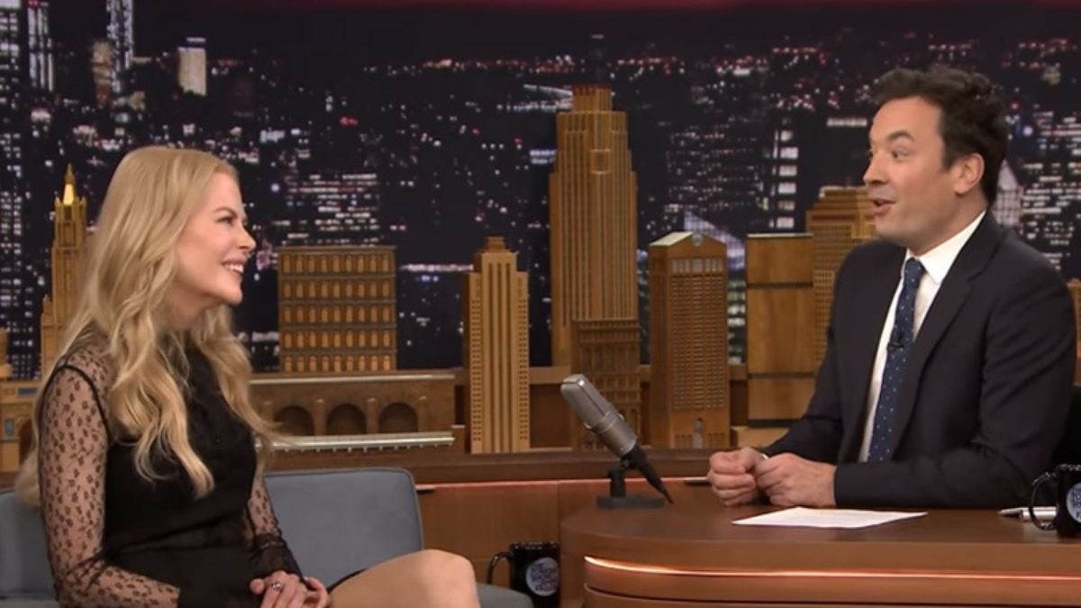 La actriz contó la segunda vez que Fallon arruinó una cita, durante una cena en la casa del director David Fincher.