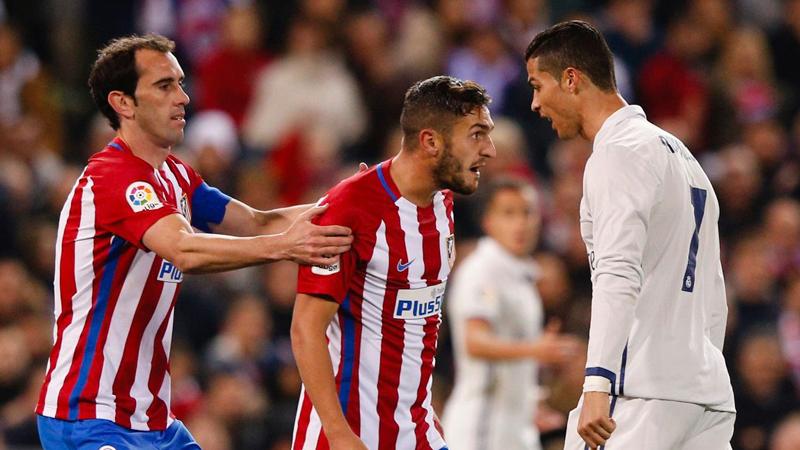 Una de las acciones más comentadas en el Atlético de Madrid vs. Real Madrid.