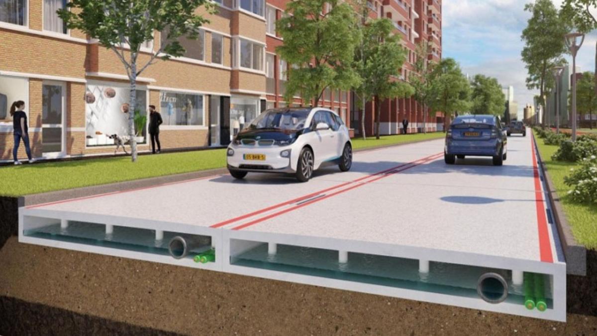 Holanda apuesta por el plástico reciclado para construir carreteras sostenibles.