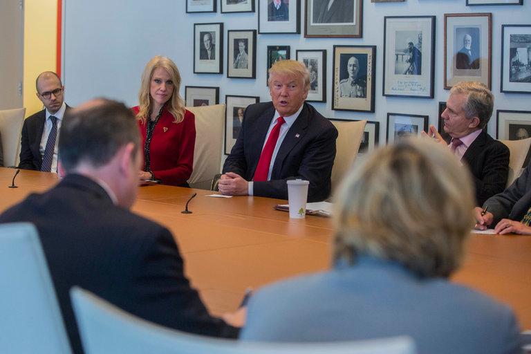 The New York Times fue uno de los medios estadounidenses más críticos con Donald Trump a lo largo de la carrera electoral. El magnate se ha referido en varias ocasiones al medio como un