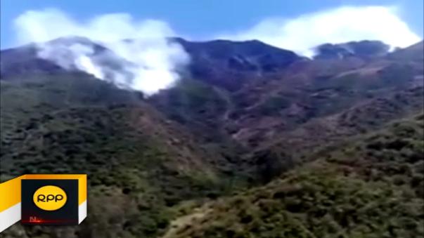 Bolívar es una de las provincias liberteñas afectadas por los incendios forestales.