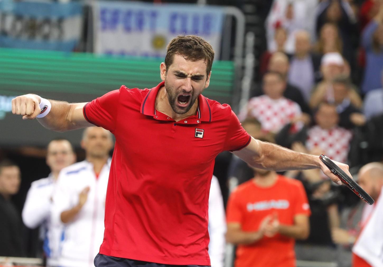 Marco Cilic se encuentra en el puesto 6º en el ranking ATP.